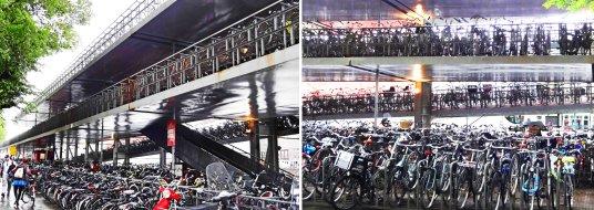 _Amsterdam bike storage_Yikes Bikes