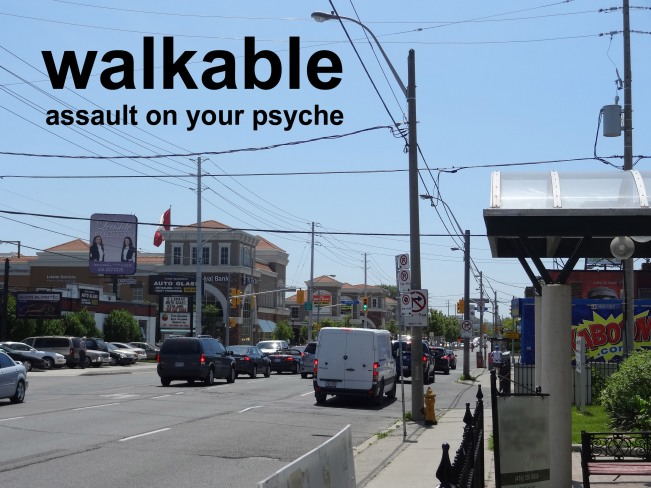 walkable assault on your psyche
