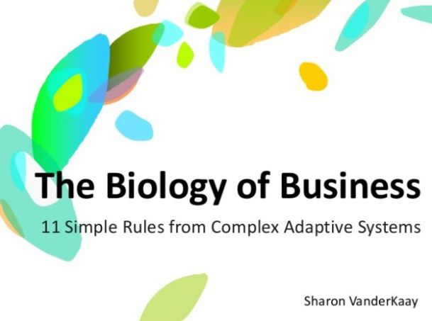 Biology of Business